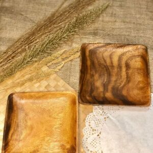 Plates Wooden Square Plate buy local