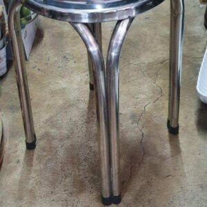 Container 3 Foot Stainless Bar Stool Chair