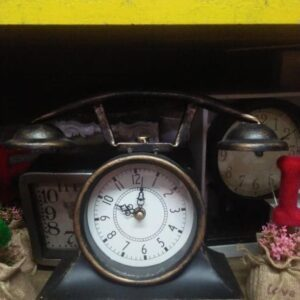 Clocks Vintage Telephone Clock clock