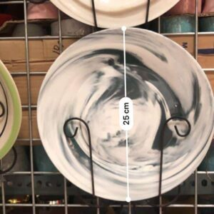 Plates Marble-designed Round Plates dinnerware