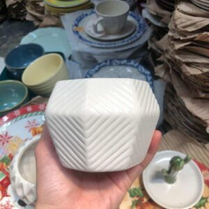 Pots White Small Pot ceramic