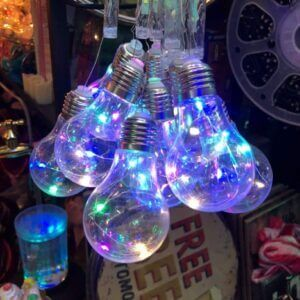 Ornaments Multi-colored Bulb Light hanging bulb light