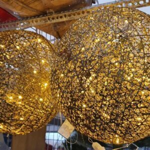 Ornaments 3 ft Christmas Light Ball hanging bulb light