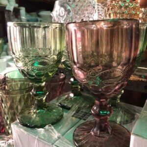 Glass Small Goblets Glass drinking glass