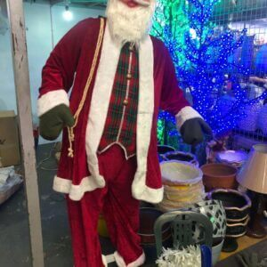 Christmas Decoration Life-size Santa (7ft) All about Christmas