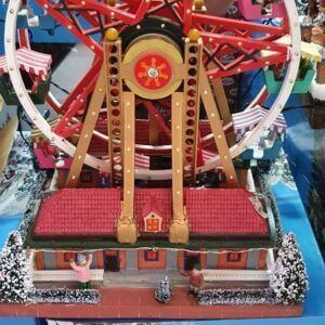 Figurines Lightning Ferris wheel Display Displays