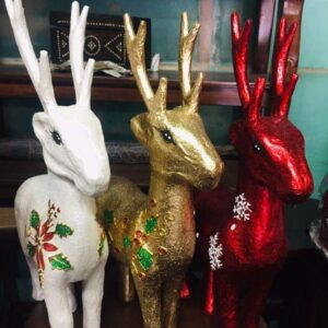 Others Paper Mache Reindeer All about Christmas