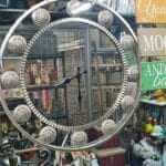 Clocks Moroccan mirror clock home decor