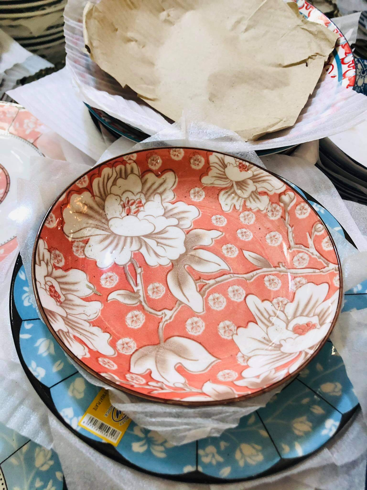 Kitchen Floral Salad Plate 7 inches plate