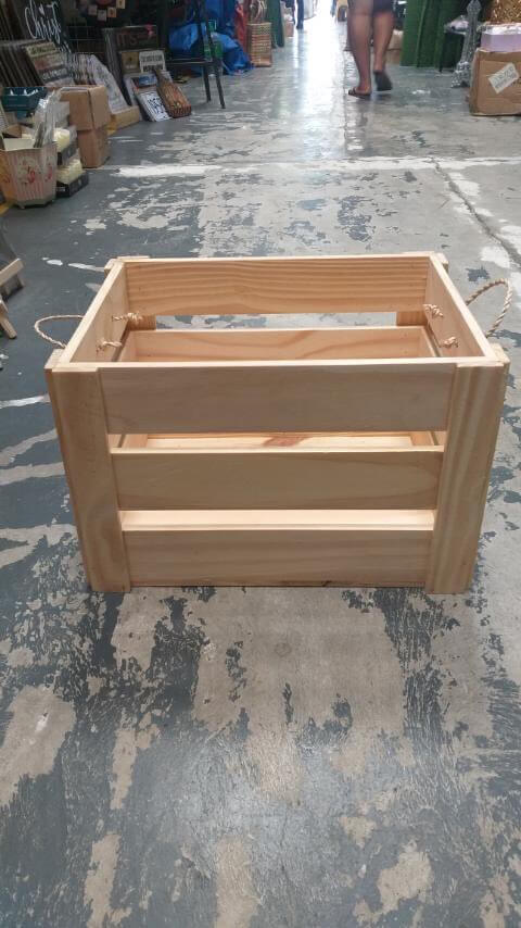 Buy Containers Wooden Wood Crate container