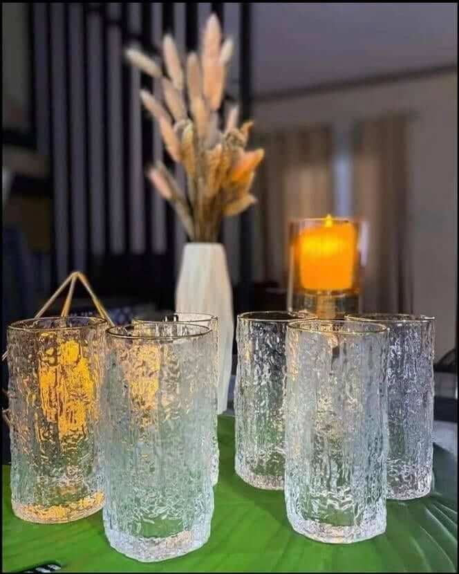 Glass Crystal Water Glasses ceramic glass